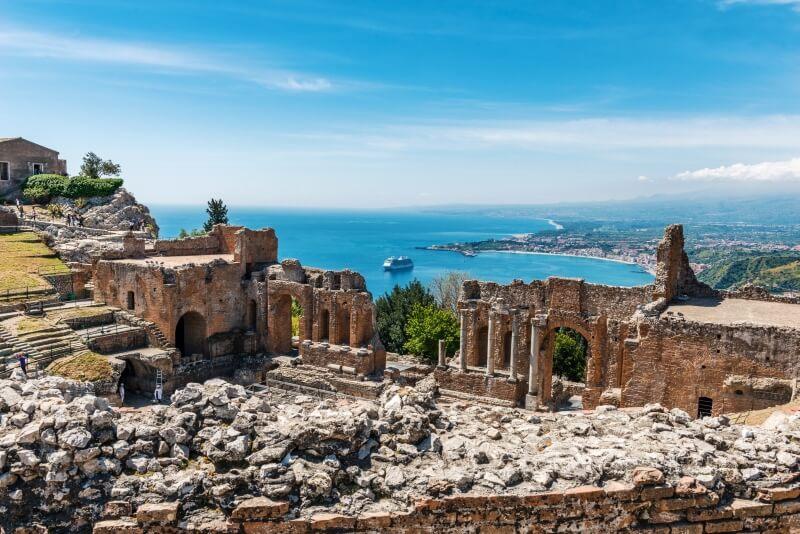 autorondreis Sicilië