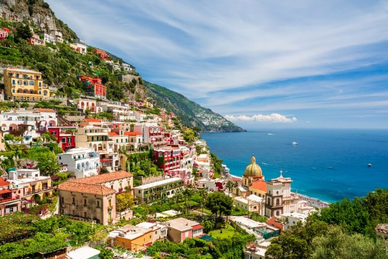 rondreis Zuid Italië - Amalfi