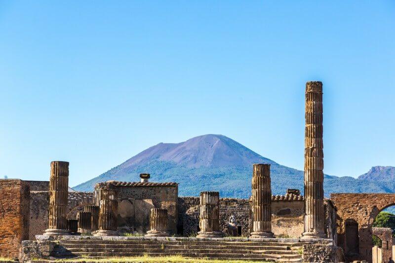 rondreis Zuid Italië - Vesuvius