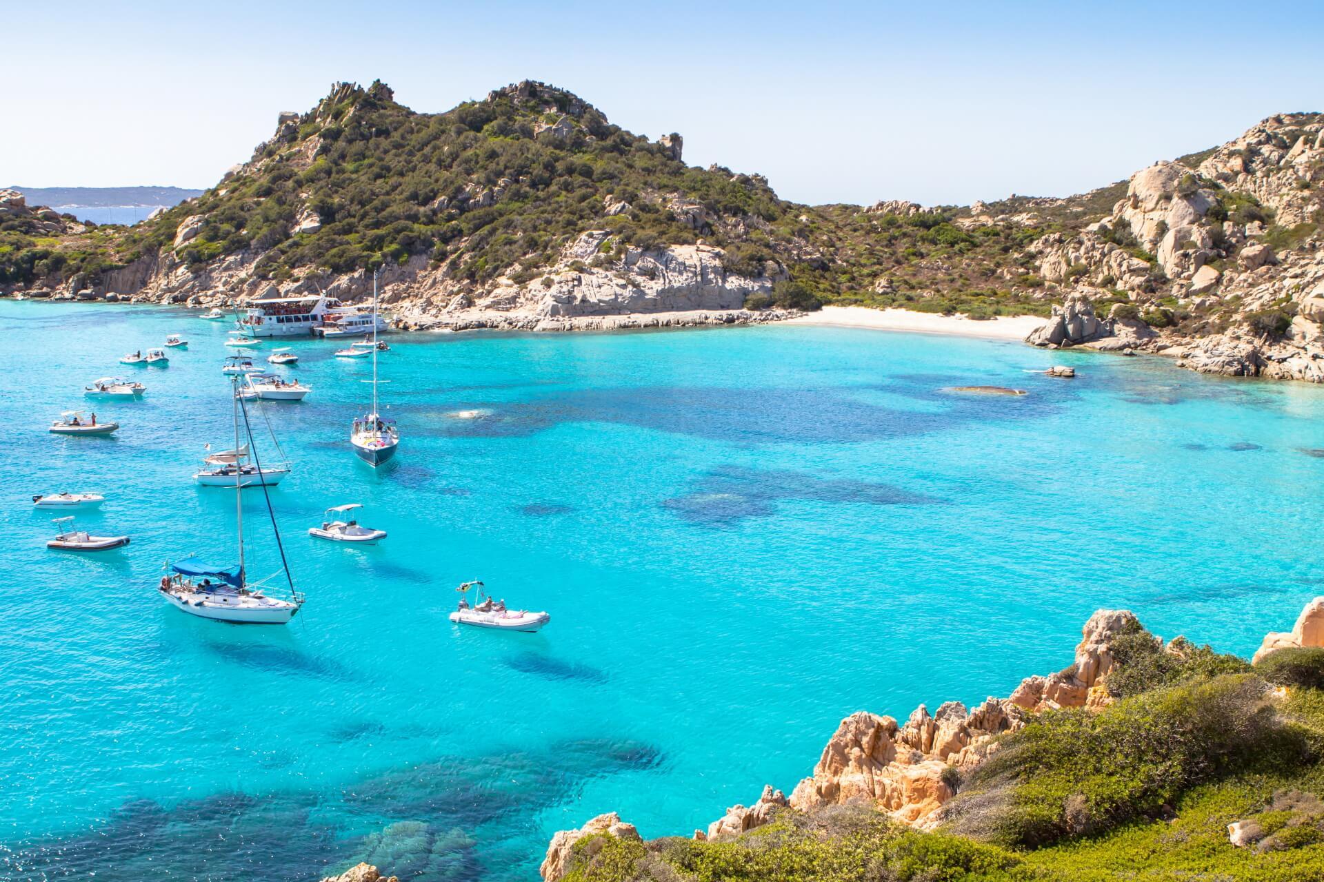 Sardinië Spiaggia di Cala Corsara