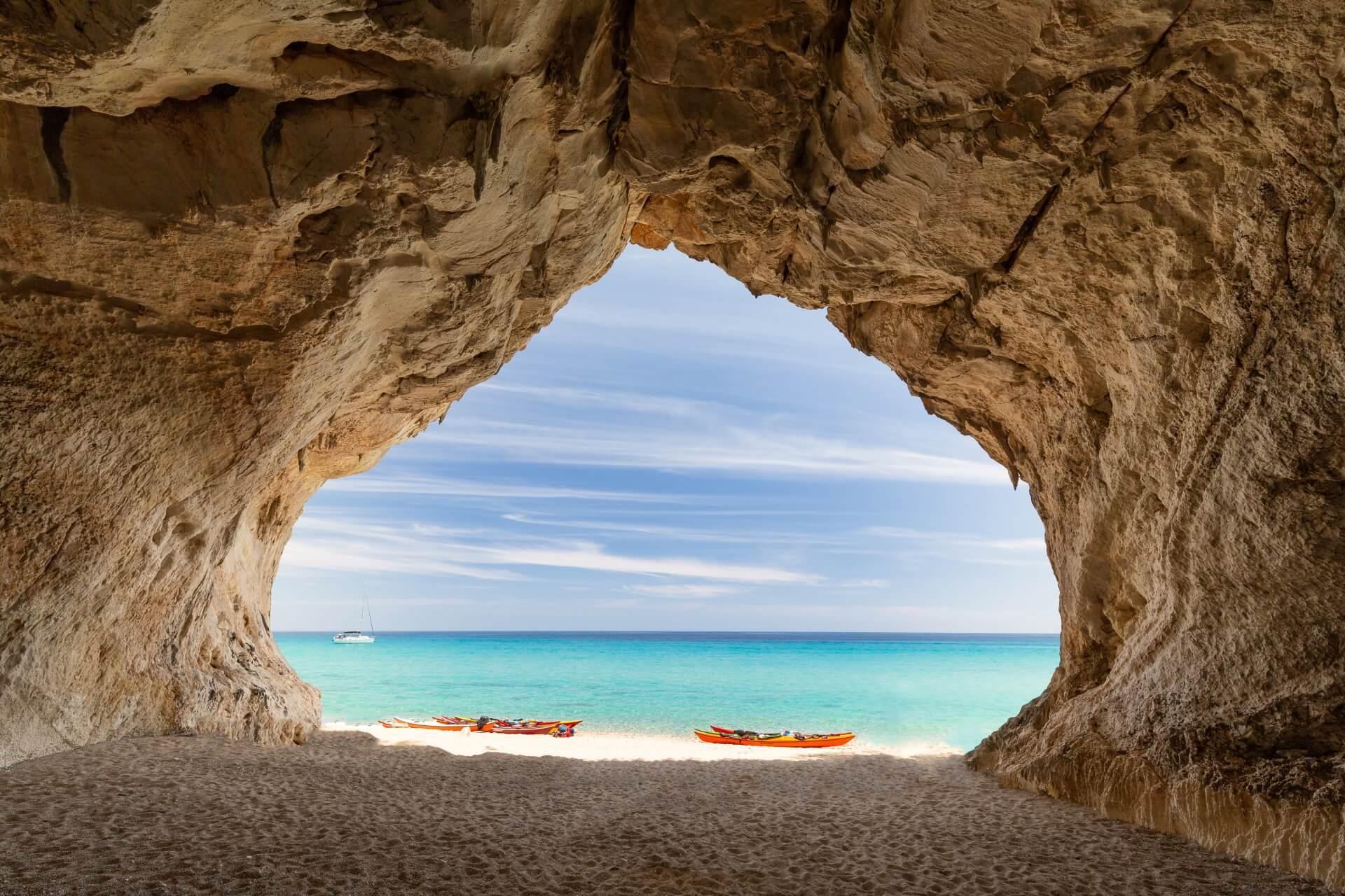 Cala Luna Sardinië strand