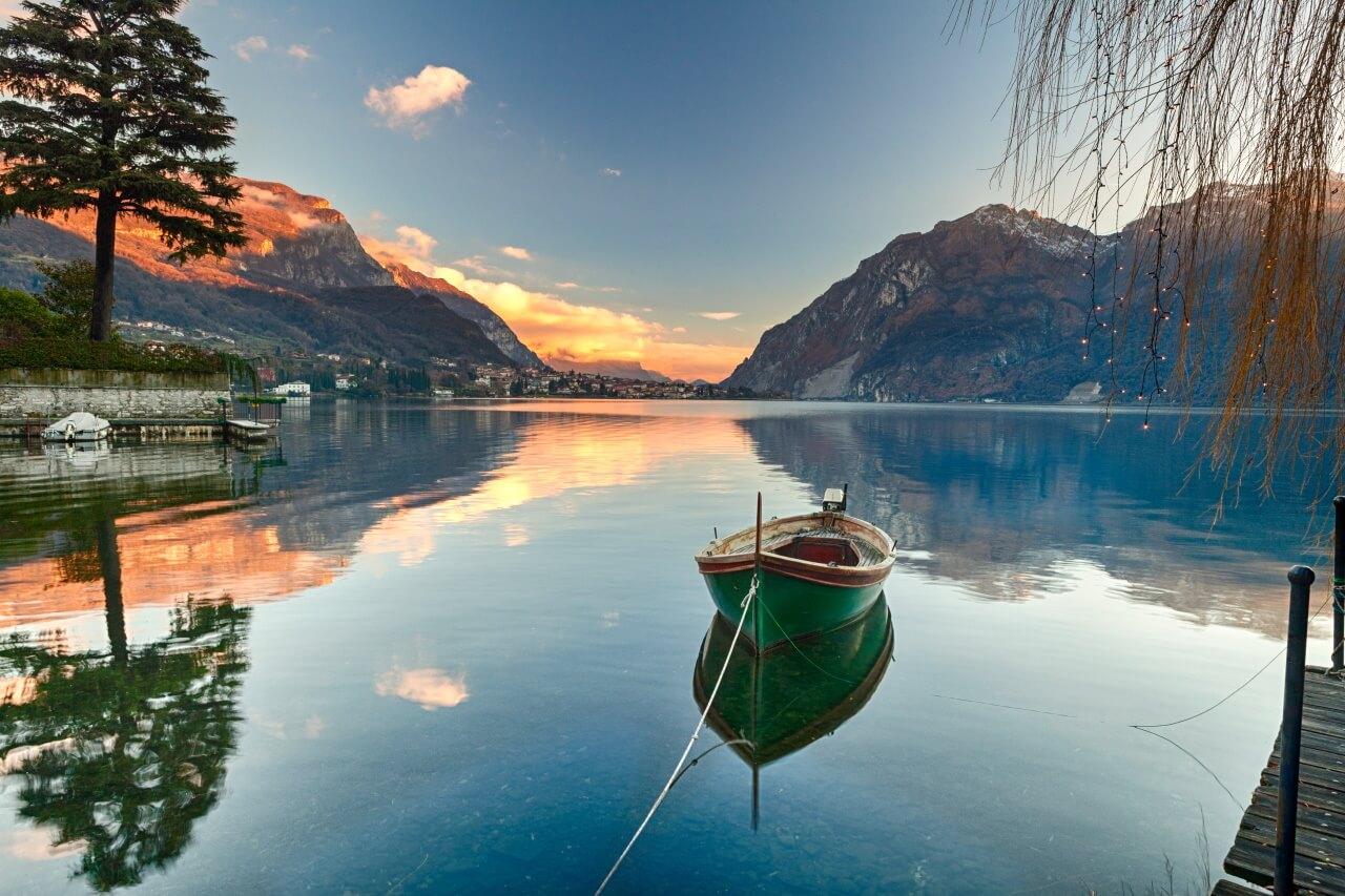 Comomeer Noord italiaanse meren