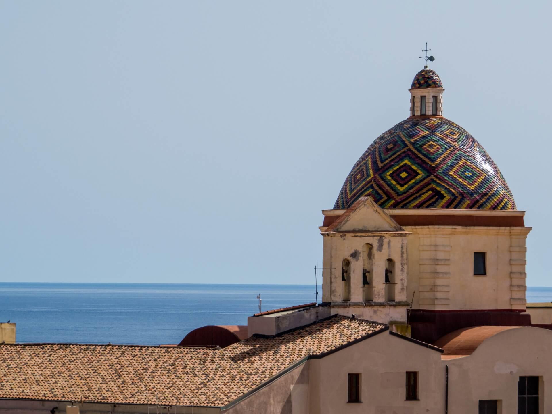 Spaanse kerk Sardinië